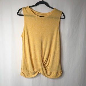 A New Day Sleeveless yellow top M